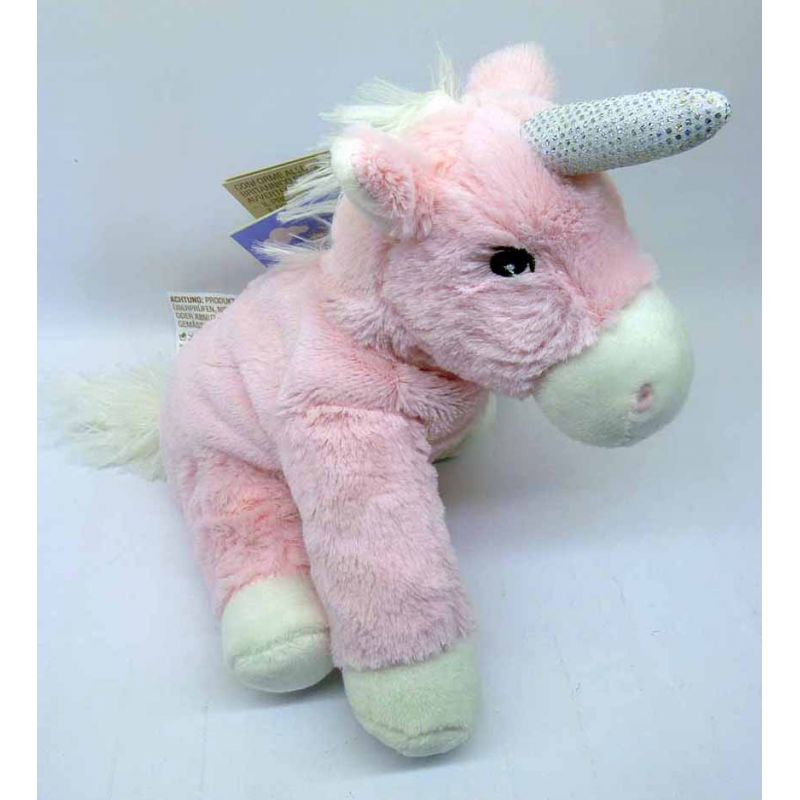 15034 warmies minis einhorn rosa kuscheltier stofftier w rmekiss toysandmore riedl. Black Bedroom Furniture Sets. Home Design Ideas
