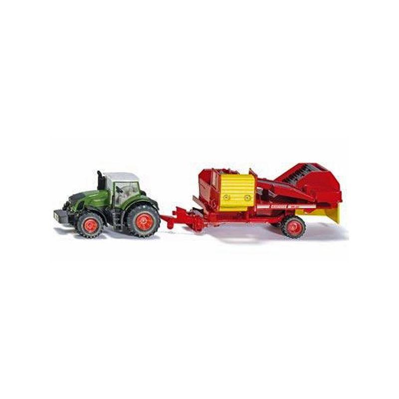SIKU Traktor mit Kartoffelroder Spielzeugautos