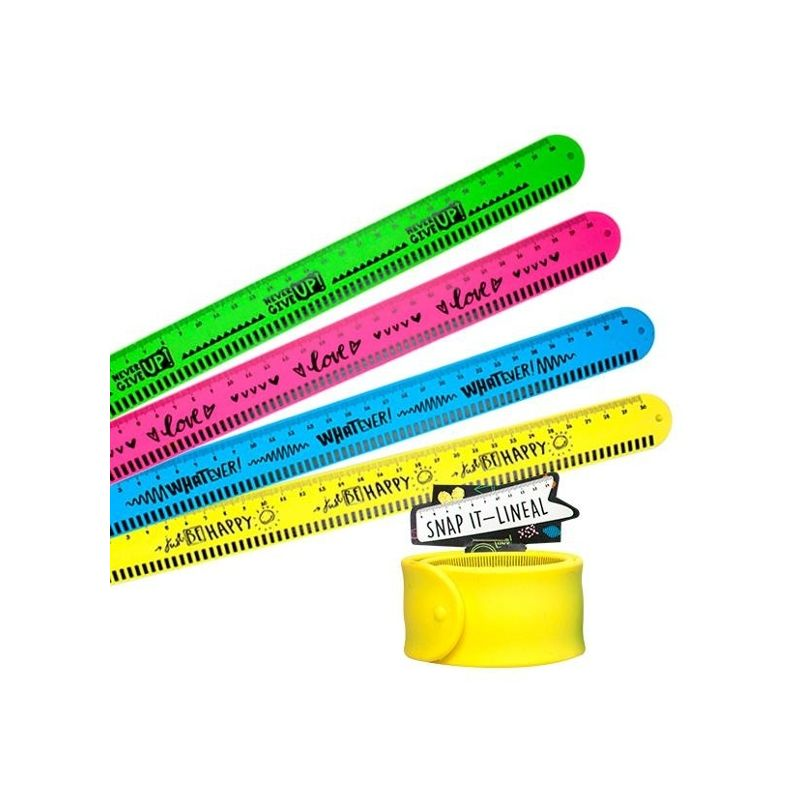 945518 Trendhaus What Ever Snap It Lineal 30 Cm Armband Schule 2