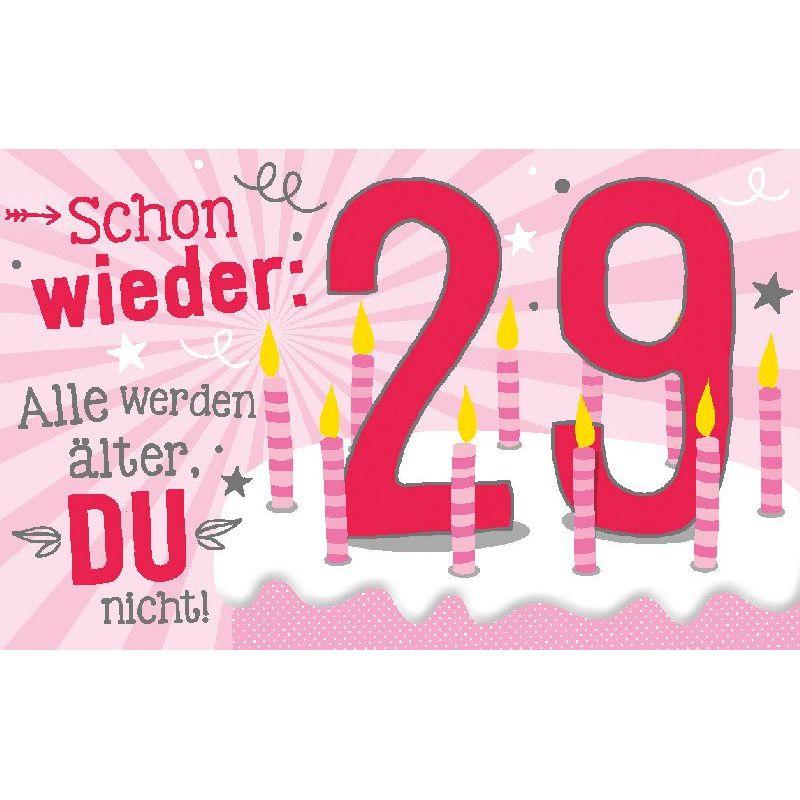 Geburtstagskerze 29