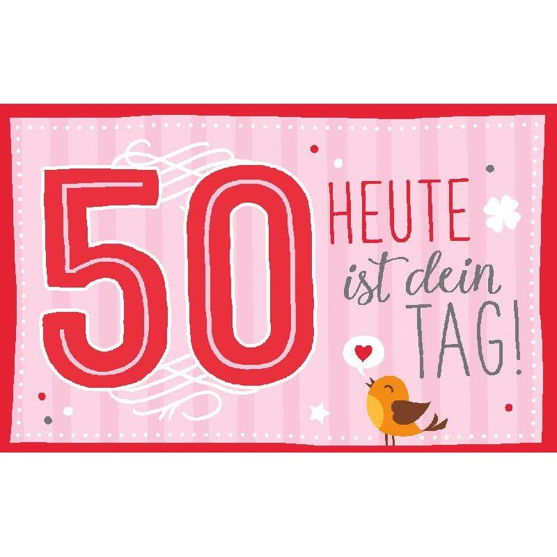 Geburtstagteelicht Geburtstag Geburtstagkarte Kerze Teelicht Zum 50
