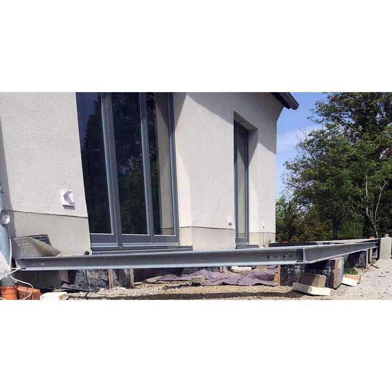 terrasse 2m 15m unterkonstruktion stahl verzinkt siku toys spielzeu toysandmore riedl. Black Bedroom Furniture Sets. Home Design Ideas