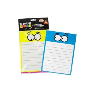 948427 Trendhaus BUDDYS To-Do-List-Sticker 2er Set Termine Notitzen Schule A5