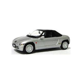 JC092 Jcollection 1:43 Honda Beat 1991 silver metallic