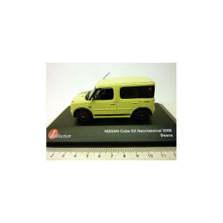 JC131 J collection 1:43 NISSAN CUBE SX Neoclassical 2006