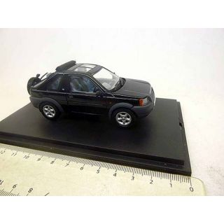 Land Rover Freelander 1:43 Land Rover 1998 open back beluga black