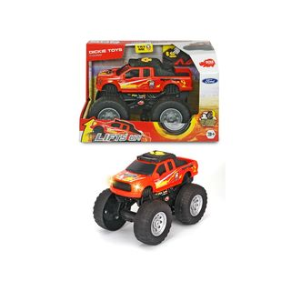 203764018  Dickie Toys Ford Raptor Wheelie Raiders Licht & Sound